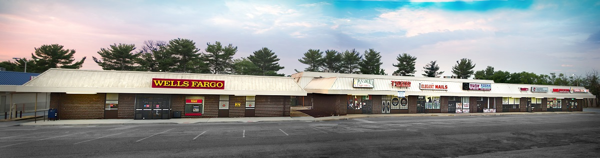 MEADOWOOD II (SHOPPING CENTER- 4 BUILDINGS- 3 -1 STORY & 1 - 2 STORY W/2nd FL OFFICE) 2644 KIRKWOOD HWY. NEWARK, DE 19711